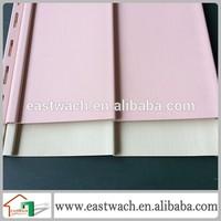 American style pink vinyl siding