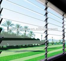 Glass louver window