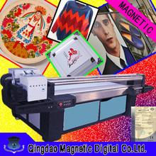 large format leather flatbed uv printer/ceramic tile printer