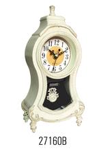 plastic quartz wall clock retro,retro wall clock,retro clock