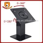 Quality VESA mounting pattern 360 rotating and 180 tilting flexible universal Ergonomic Laptop Stand