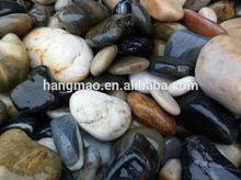 Black and white gravel pebbles stones