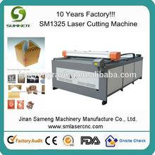 cardboard cutter/business card cutter/100w co2 laser tube /SM1325 laser cutting machine/cheap cnc leather machine
