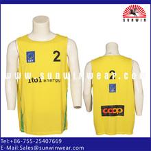 Custom Shooting Shirts Sublimated Basketball Training Tops
