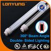 T10 double-side new design 13w ube8 led light tube 8 china 600mm for indoor lighting