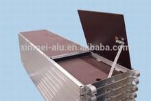 aluminium anti-skidding scaffolding plank with film faced plywood