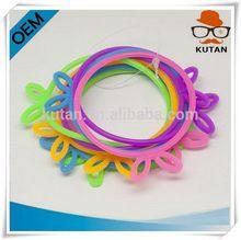 Top grade hot-sale 2014 silicone college team bracelet