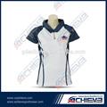 Diseño personalizado de poliéster dri fit oem de golf ropa-- caliente de la venta de golf camisas de polo