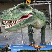 My-dino realistic latex sexy dinosaur costume