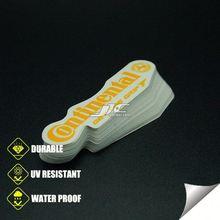 0.12mm water proof vinyl electroform nickel sticker