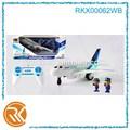 4ch RC modelo de avión con la luz y la música para la venta sin batería