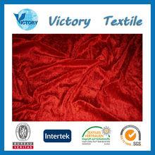 Polyester Micro Velvet Kurta Fabric