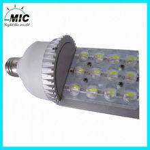 MIC bridgelux E40 12w street light automatic switch 3 years warranty