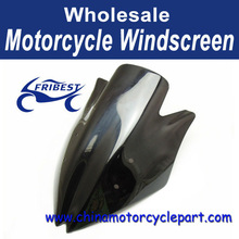 Windshield WindScreen Double Bubble For Kawasaki Z1000 2007 08 2009 Black FWSKA026