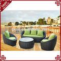 S&d bonita sofá jardim conjunto/sofá ao ar livre mobiliário/do jardim do rattan sofá de vime conjunto