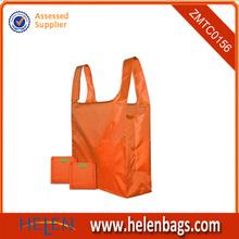 2014 multicolor hotsale nylon foldable shopping bag
