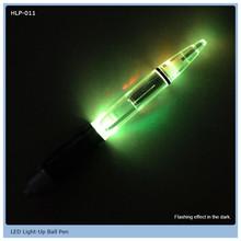 low price high quality logo led light flashing pen