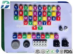 Silicon rubber keypad/remote control conductive rubber keypad
