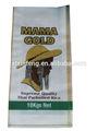 Precio barato 25 kg bolsas de granos, Pp tejida bolsas de embalaje para el arroz harina azúcar de arena de la patata agricultura maíz 100% nuevo de polipropileno