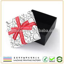 Ribbon Decorative Big Day Present Paper Packaging Wedding Favor Box