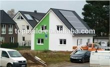 Top Build Chinese solar energy beach prefabricated homes/houses/villas