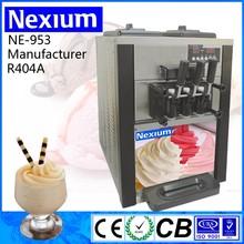 New Design Professional CounterTop 3 Flavors Frozen Yogurt Machine