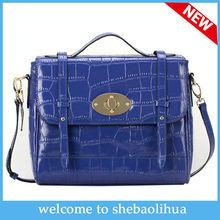 2014 unique designer handbag Embossing pu Leather Fashional Lady bags high quality handbag women&leather Messenger Bag