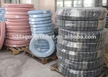 SAE 100R14 Polytetrafluorethylene (PTFE)-lined hydraulic hose, single-stainless steel braid