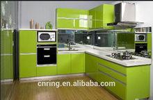 latest style aluminium kitchen cabinet design