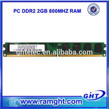 Bulk computer parts life time warranty 2gb ram ddr2 for desktop