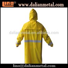 Yellow Adult Waterproof PVC Rain Coat