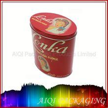 2012 rectangular metal candy tin box metal tin box