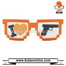 Good quality most popular pixel novelty pinhole sunglasses
