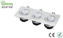 best selling latest pop design cob led grille light 2400lm 3000-6000K