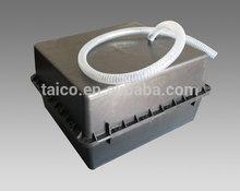 Long warranty waterproof underground battery box for 12v solar battery series