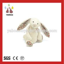 Usine directe mignon en peluche jouet Animal fourrure de lapin