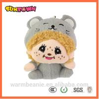japanese toy dolls mouse shape plush monchichi toys doll