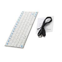 Bluetooth 3.0 Ultra-slim Cheap Computer Keyboards Wireless Flexible Keyboard Laptop Mini External Keyboards For Sale