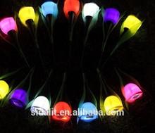 Tulip flowers solar garden led light STL-001