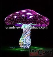 2014 NEW led christmas decoration light 3D mushroom for park of alice in wonderland