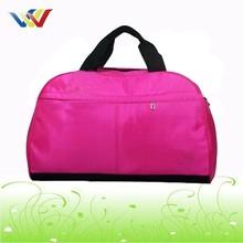 Red Sports Duffle Bag Travel Gym Luggage