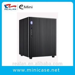 Cheap desktop slim case mini pc tower case/itx computer cases manufacturer Realan