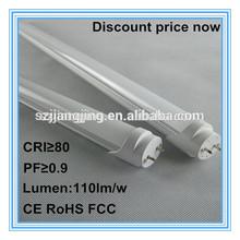 High Lumen smd2835 tube8 chinese 2 and 4 ft aluminum/glass led tube