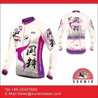 Bike race wear cycling shirt with coolmax