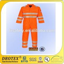 flame retardant & hi vis reflective overalls / orange overalls / flame retardant workwear by drotex 's sophia song