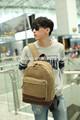 2014 fashion wholesale canvas cool boy backpack bag