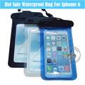 Promozionale di alta qualità logo personalizzato eco telefono mobile- amichevole pvc/TPU nuoto sacca impermeabile a secco per iphone p5529-h81