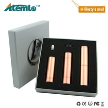 2014 newest and unique design top quality lifestyle atomizer huge capacity mechanical mod lifestyle copper wholesale made China