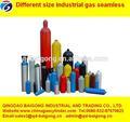 de diferente tamaño industrial de gas sin soldadura del cilindro