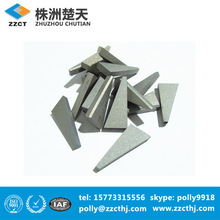 raw material cemented carbide brazing tips